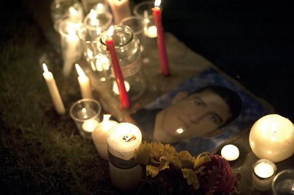 Reza Barati Vigil Perth. Image by  Anthony Georgeff .