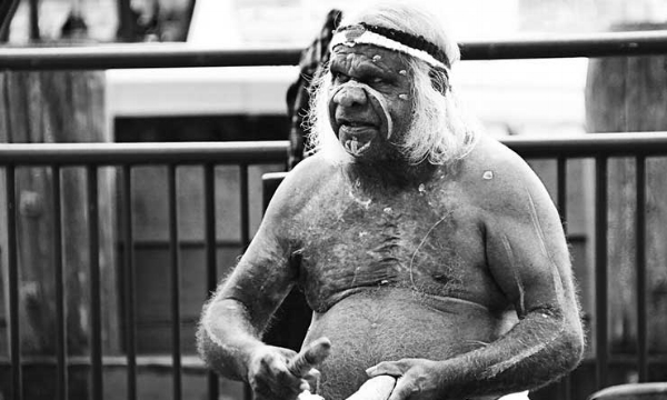 Uncle Max Eulo, an iconic Sydney identity.