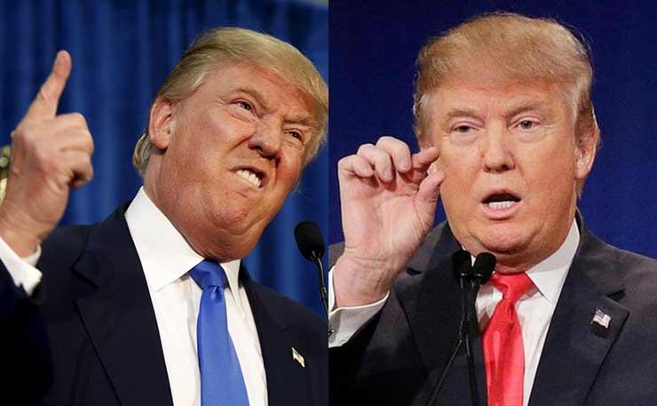 Republican US presidential candidate, Donald Trump.