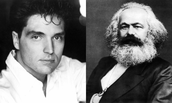 Left: Karl Marx. Right: Richard Marx. Or is it the other way around?  Spotify  and  Wikipedia