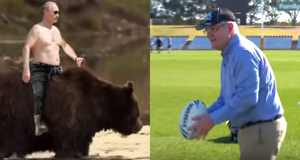Screencaps from  Vox  and The  NRL Footy Show