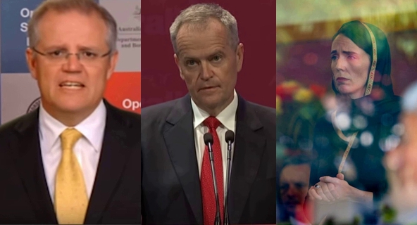Screencaps from Fairfax Media,  Australian Labor Party , and  Churchill City Council