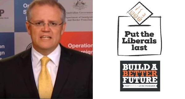 Screencaps from  Fairfax Media  and  Australian Unions
