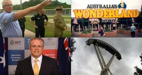 Screencaps from  SBS News ,  Fairfax Media ,  Sir Laptop  and  Wonderland Sydney