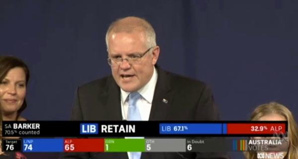 Screencap from  ABC News
