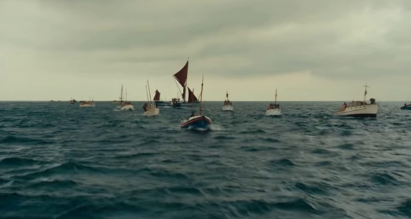 Screencap from  Dunkirk