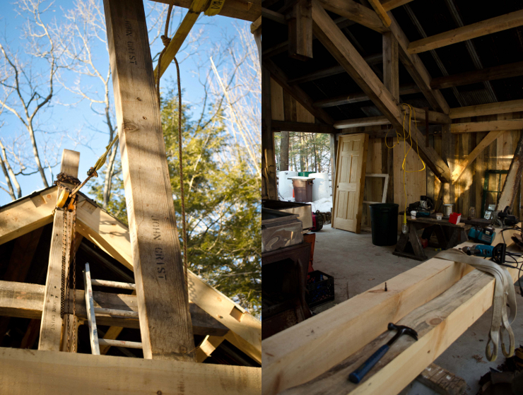 Timber Frame, Sugar Shack, Bolton Landing, John Deere, Bixby's Best
