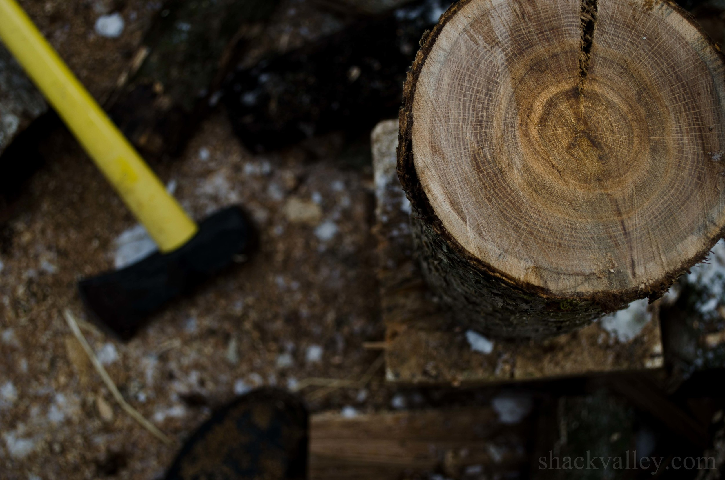 White Oak, Firewood