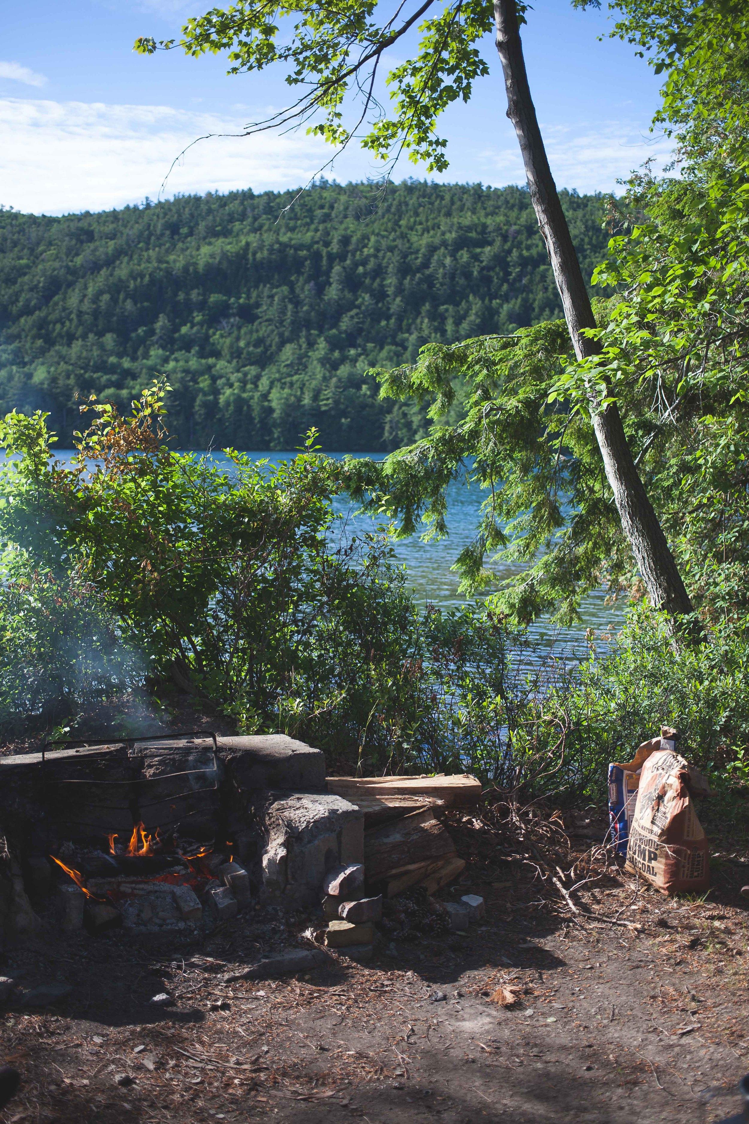 Camp Fireplace