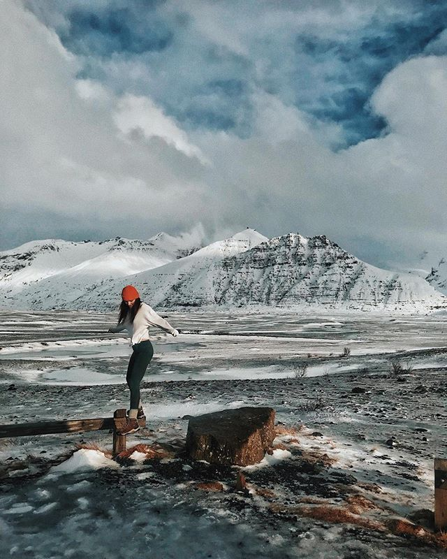 the ultimate voyage // @becclane explores Iceland in our Watch Cap beanie // #TGRSHRK #ENDTHEHUNT
