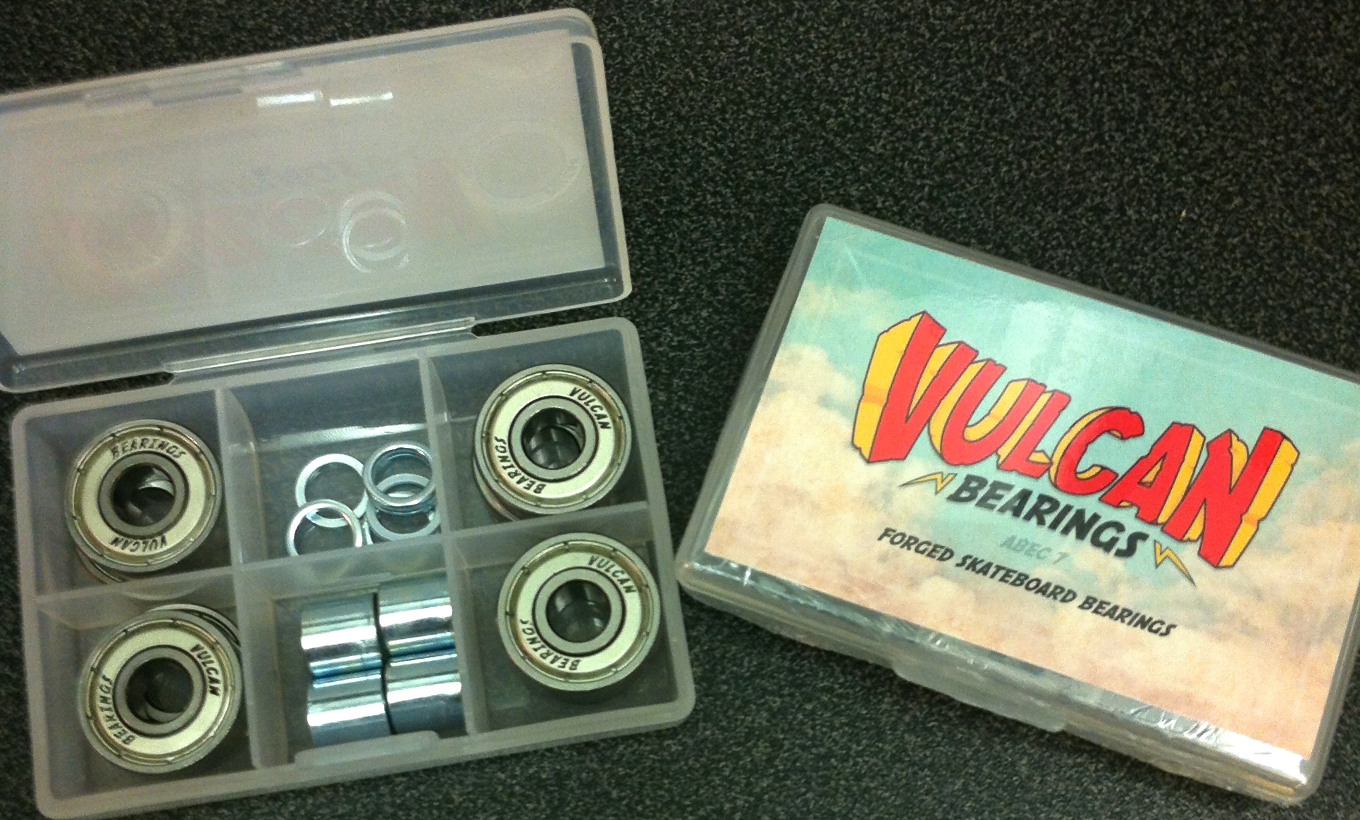Vulcan Bearings - Forged For Speed