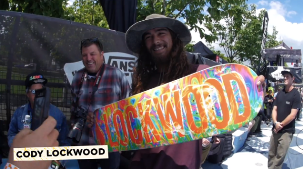 Cody Lockwood gets the PRO model from Lifeblood Skateboards!