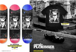 Randy Ploesser Send Help Skateboards