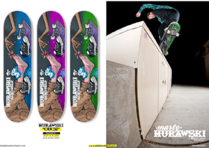 Marty Murawski Send Help Skateboards