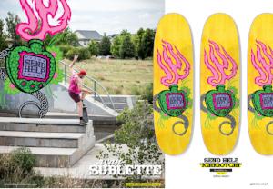 Ichigotchi Send Help Skateboards