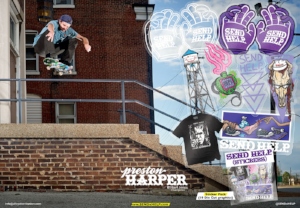Preston Harper Send Help Skateboards