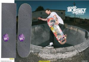 Scott Horsey Walker Send Help Skateboards