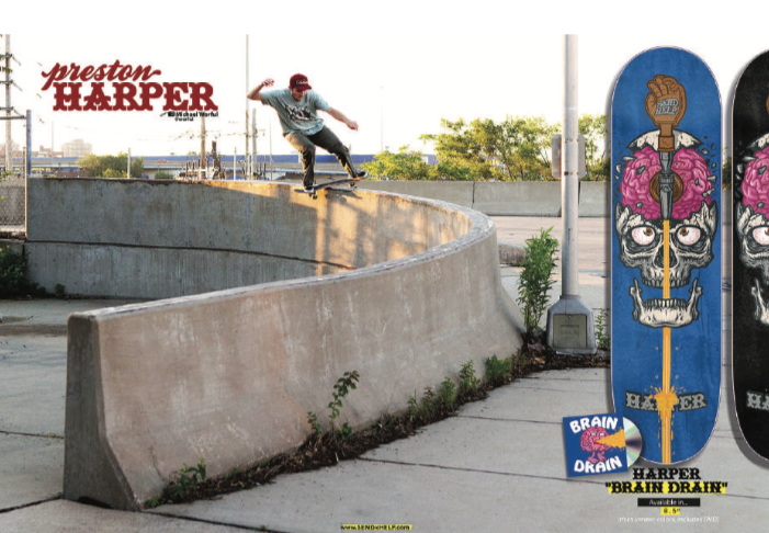 Preston Harper Pro Model with DVD available on the B2B.