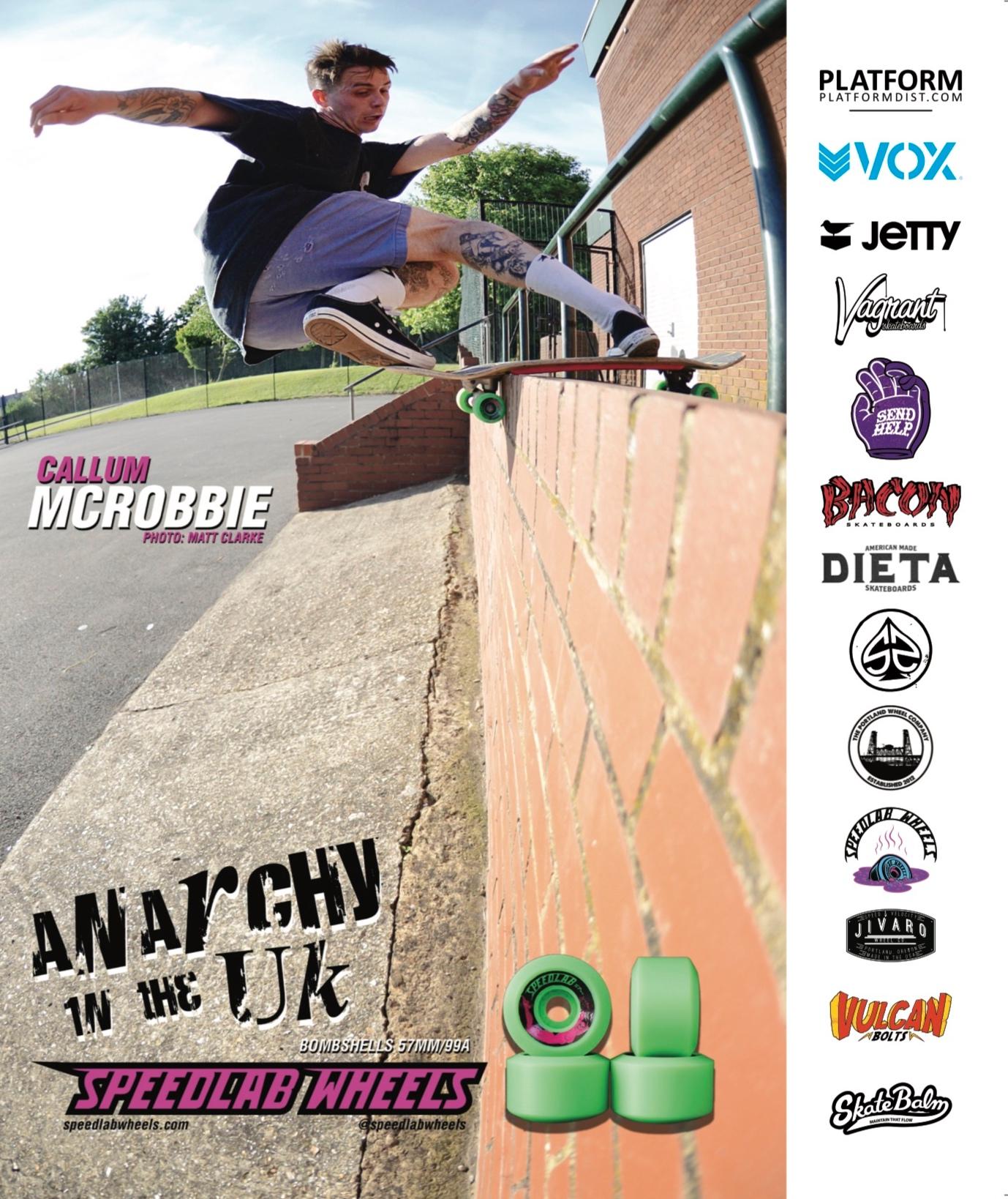 Speedlab Wheels ad in King Skate mag