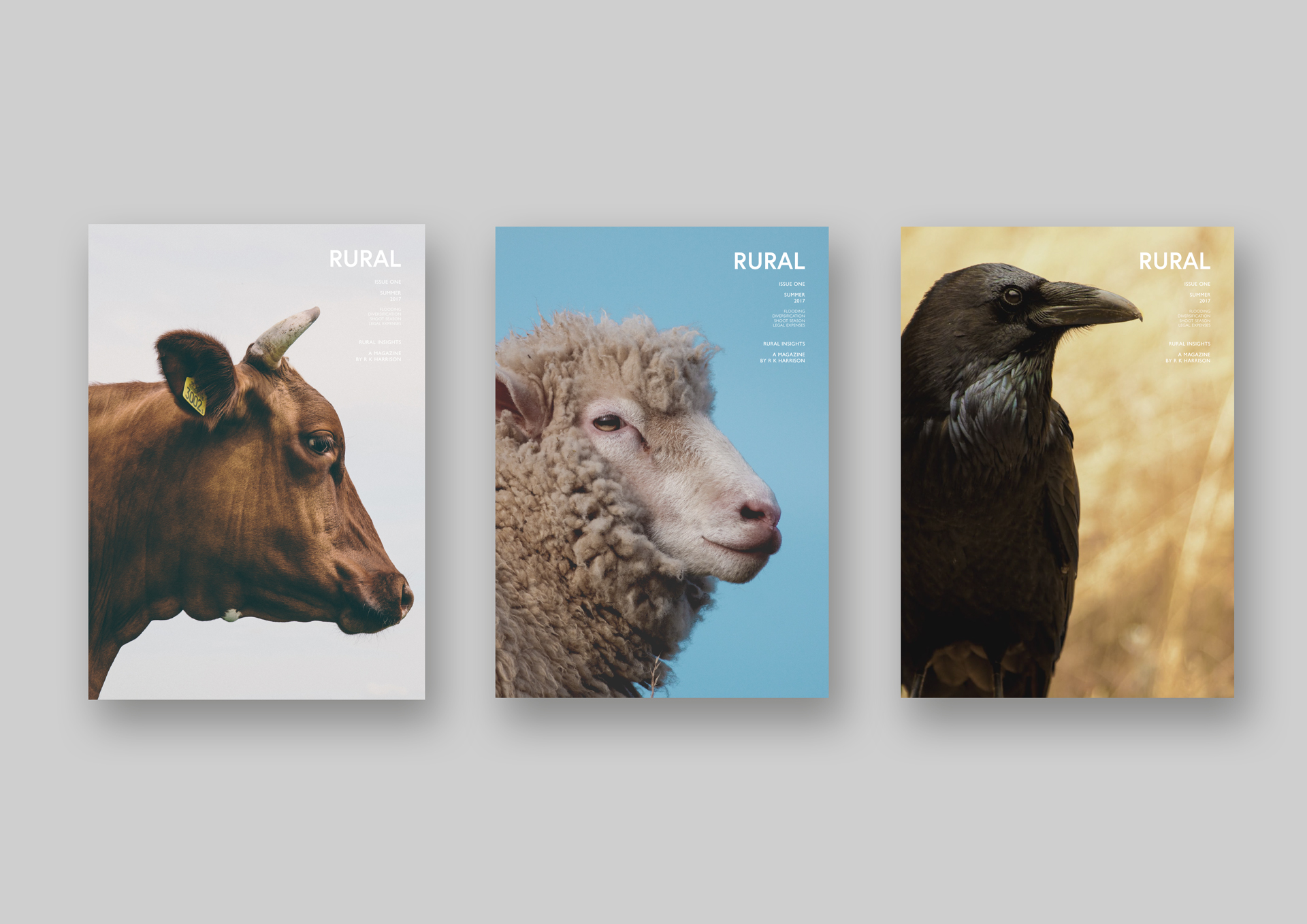 Rural Magazine covers