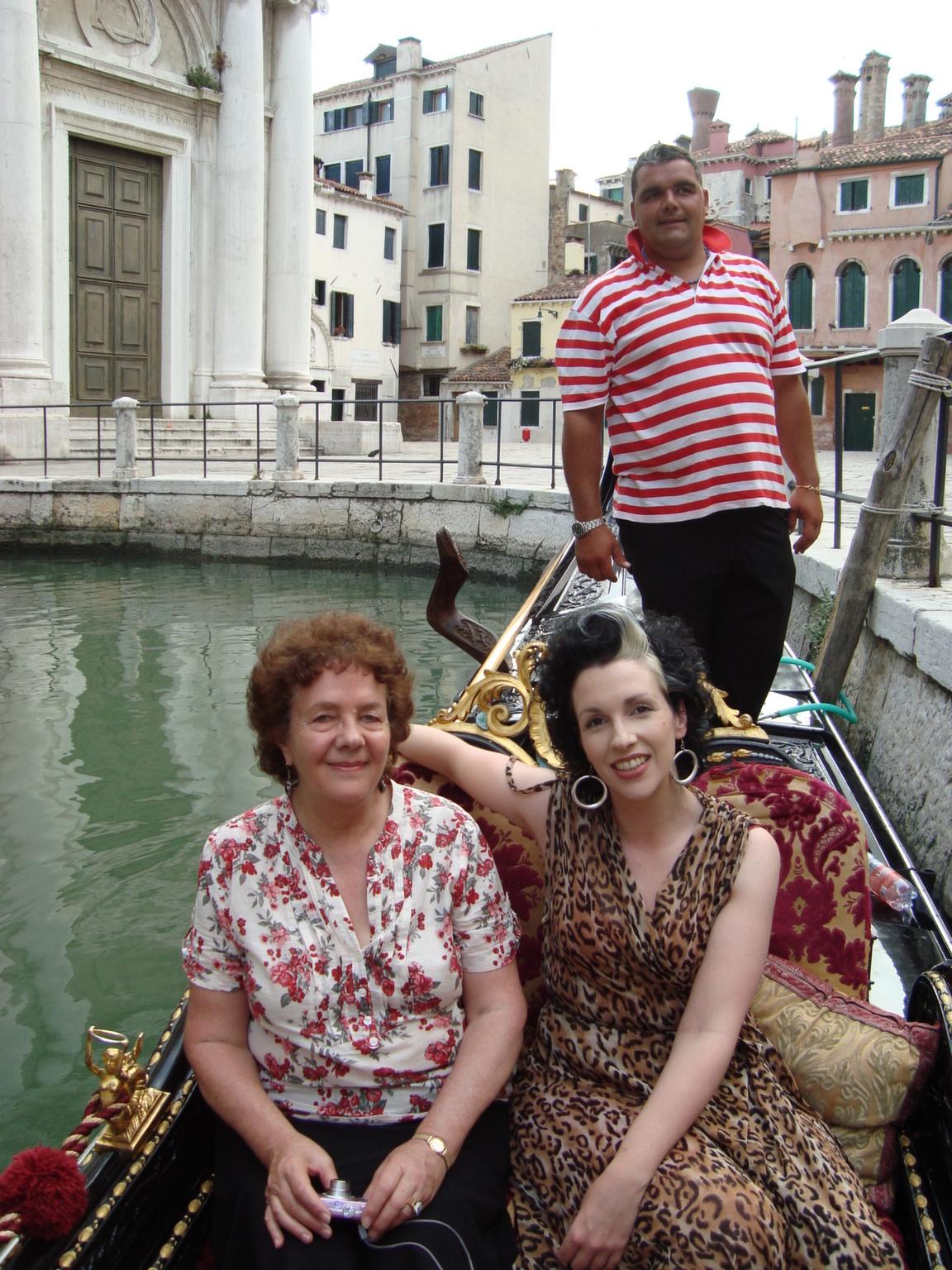 Anna and I, Venice 2011