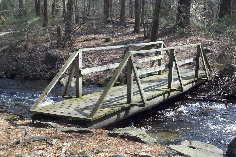 One of my favorite bridges, Caratunk Wildlife Refuge