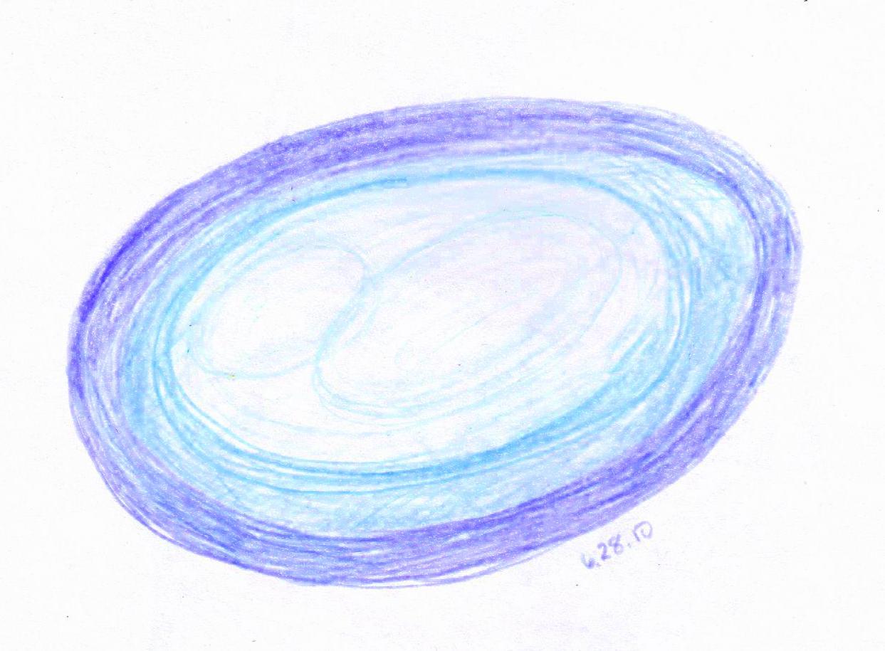 Blue Portrait, 6/28/2010