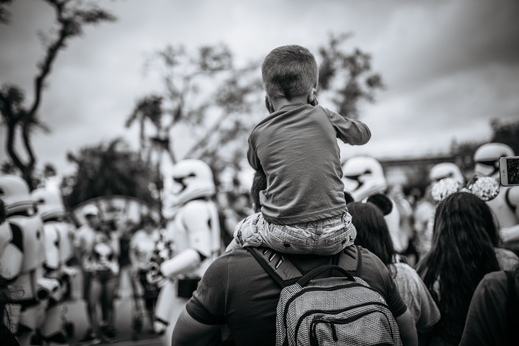 The Storm Trooper March (maybe a little loud for Anthony), but I thought it was awesome and I couldn't care less about Star Wars.