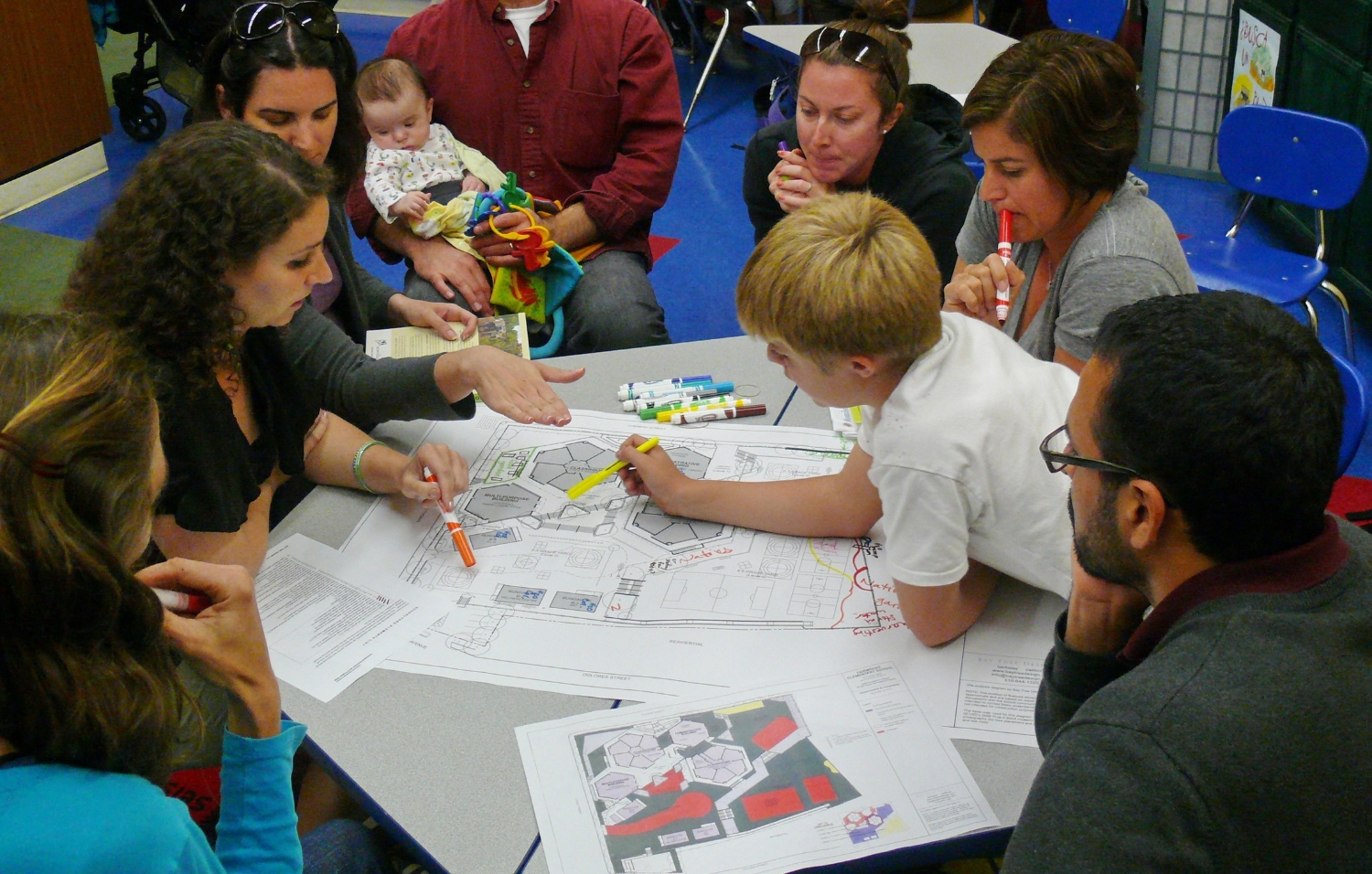 Community meeting for masterplanning process