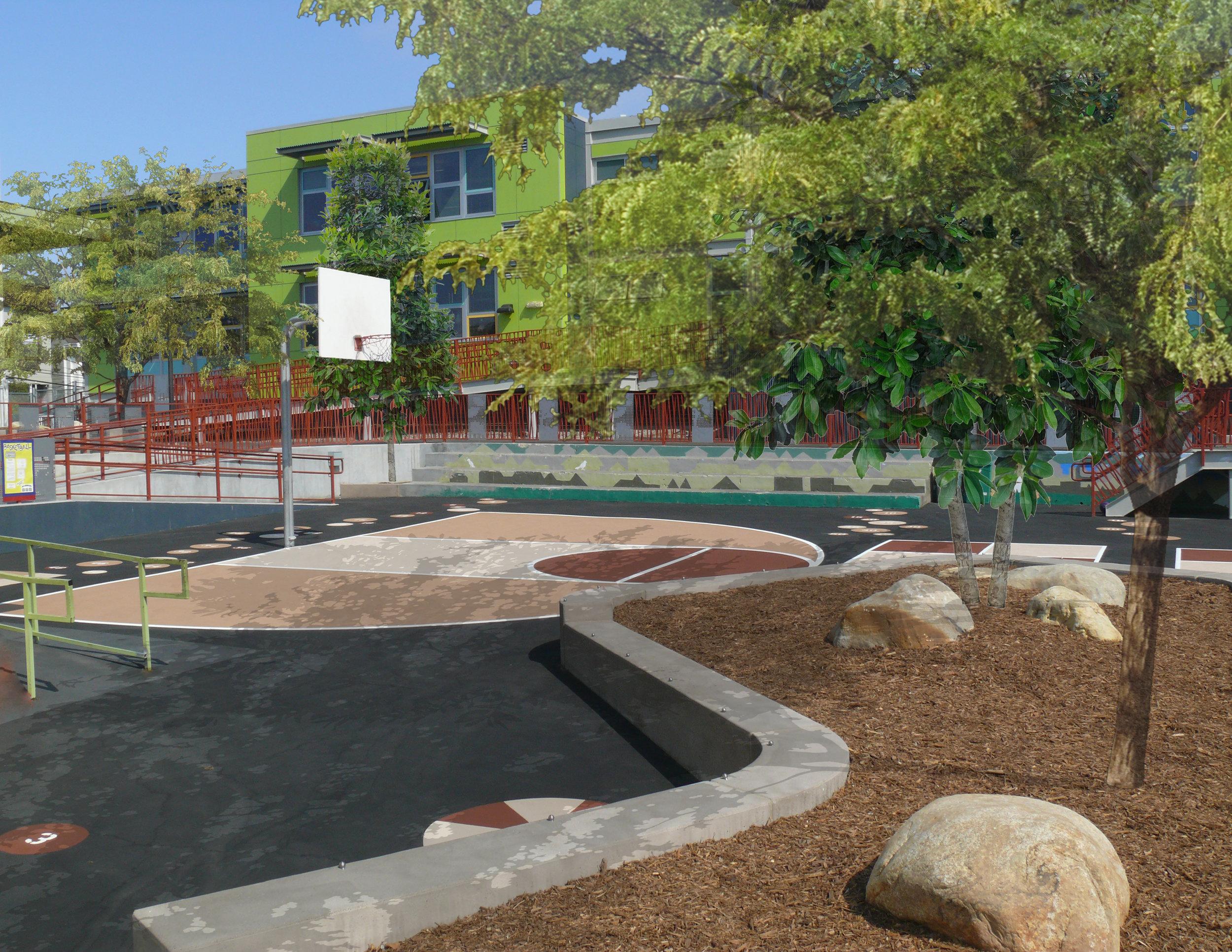 Daniel Webster Elementary School Green Schoolyard