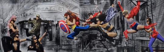 Chris Herzfeld and Thom Buchanan, Superheroes: Seeking the Truth 2013