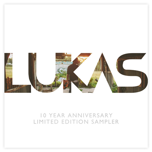 BUY LUKAS 10 YEAR ANNIVERSARY LIMITED EDITION CD