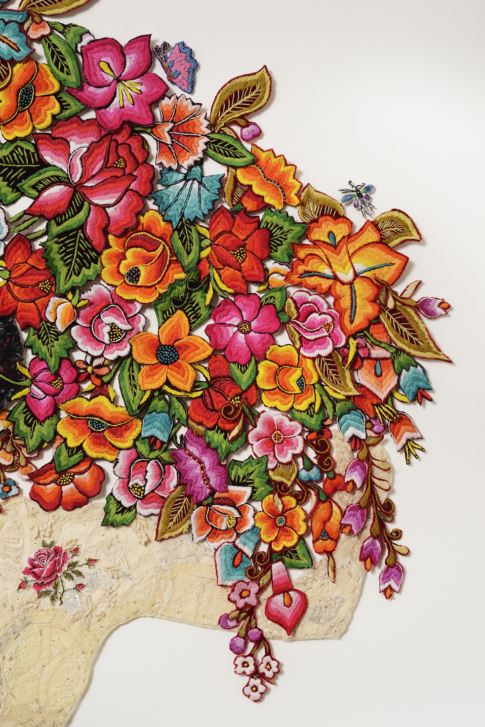 Detail - desnuda y flores 2015 after Diego Rivera 1944