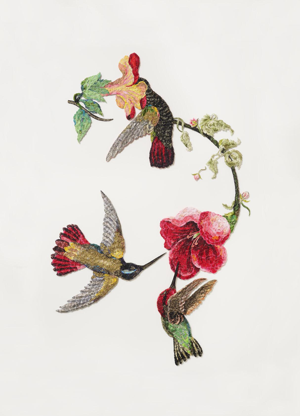 Sky Jewels 2016 after John James Audubon 1833