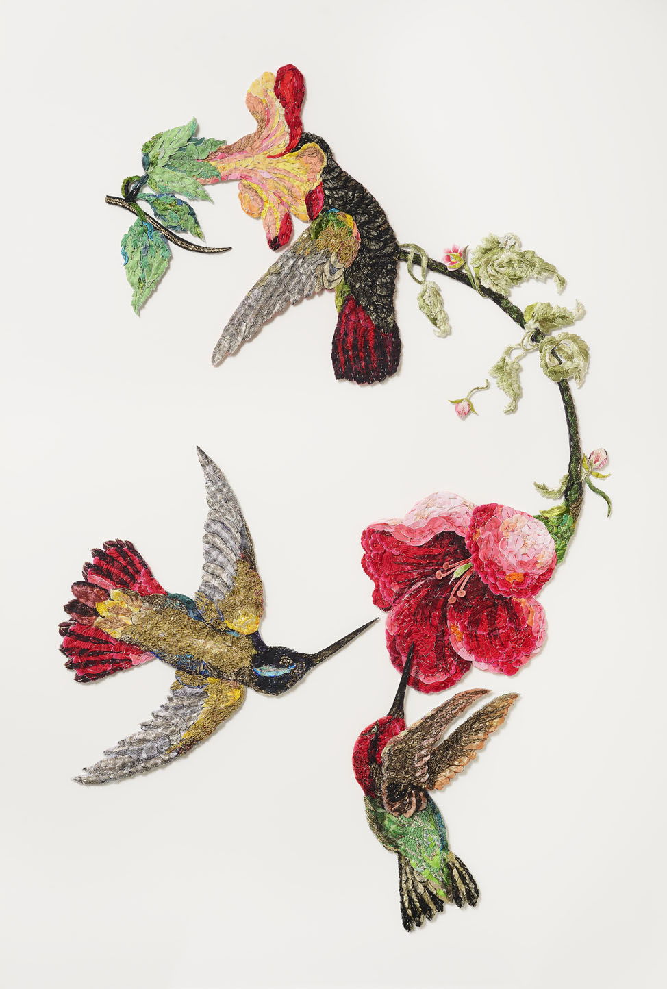 Sky Jewels 2016 after John James Audubon 1833