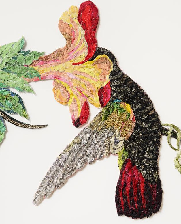 Detail - Sky Jewels 2016 after John James Audubon 1833