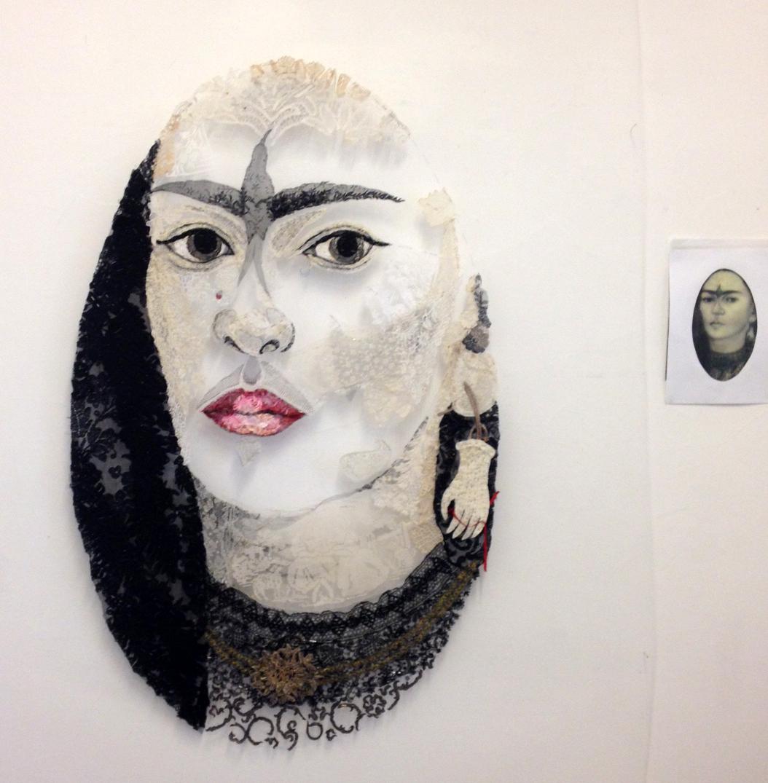 After Frida Kahlo - work in progress
