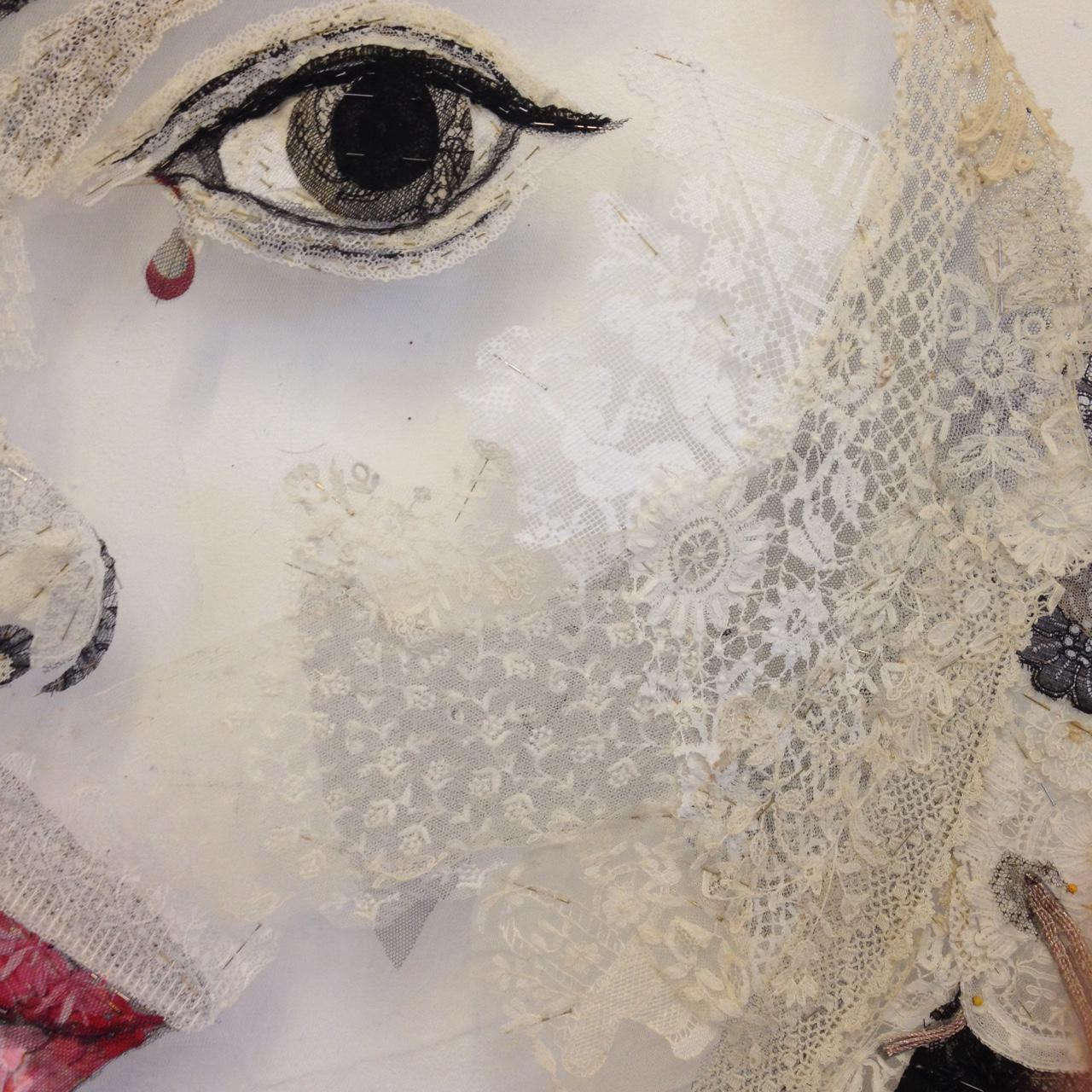 Detail  - Frida Kahlo after Kahlo 1946