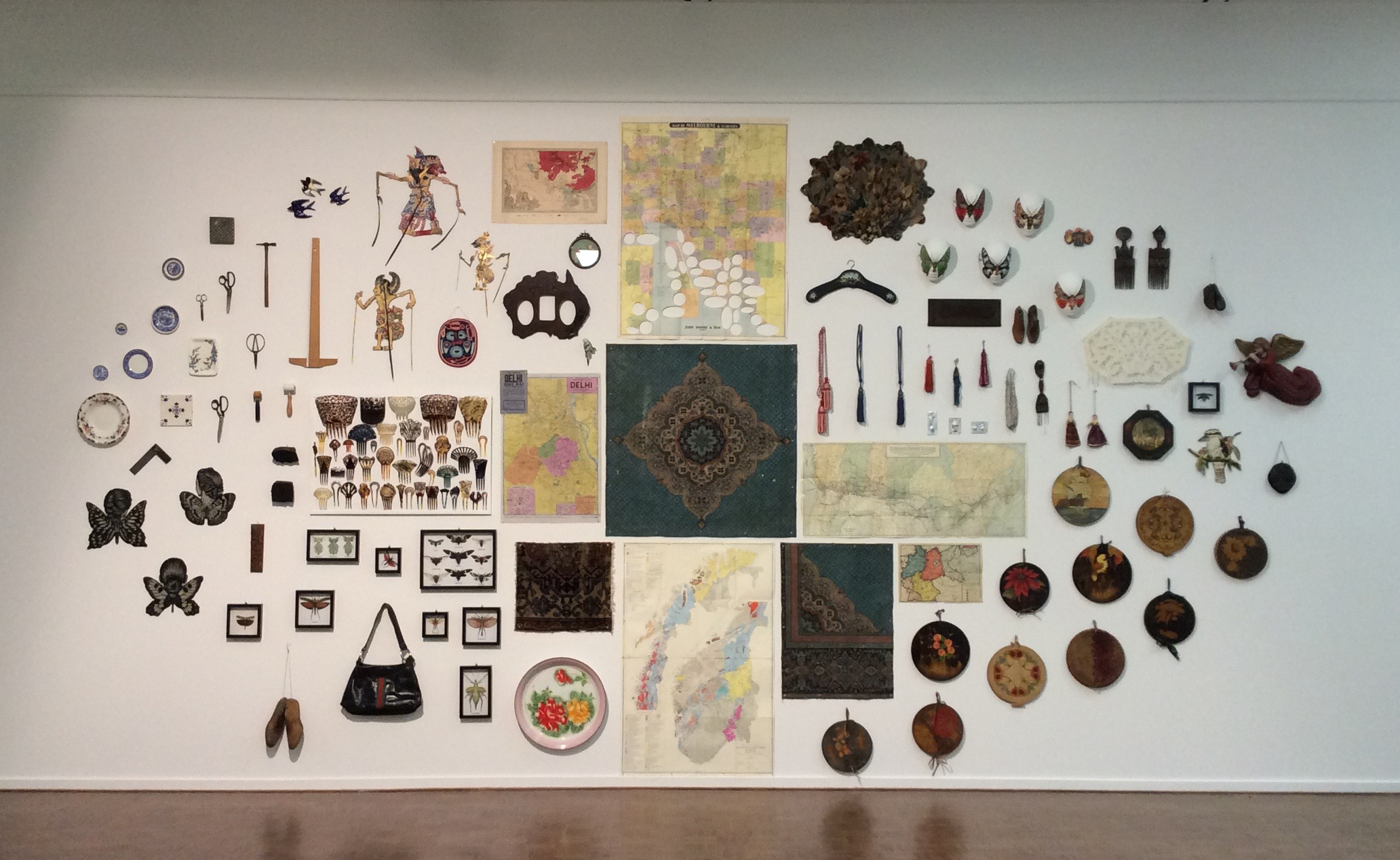 From the Bower: patterns of collecting