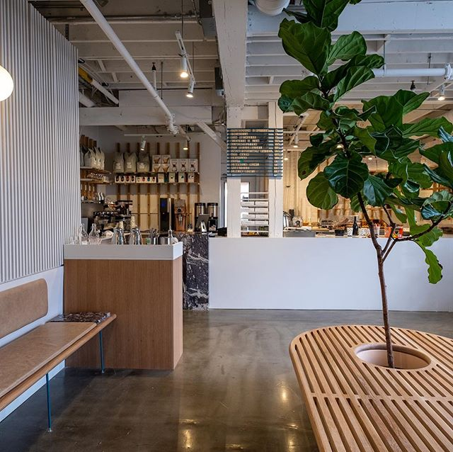 Another couple shots of the interior of brodflour. Designed and built in collaboration with @raelenstorey Photo cred @laurajeanmarie