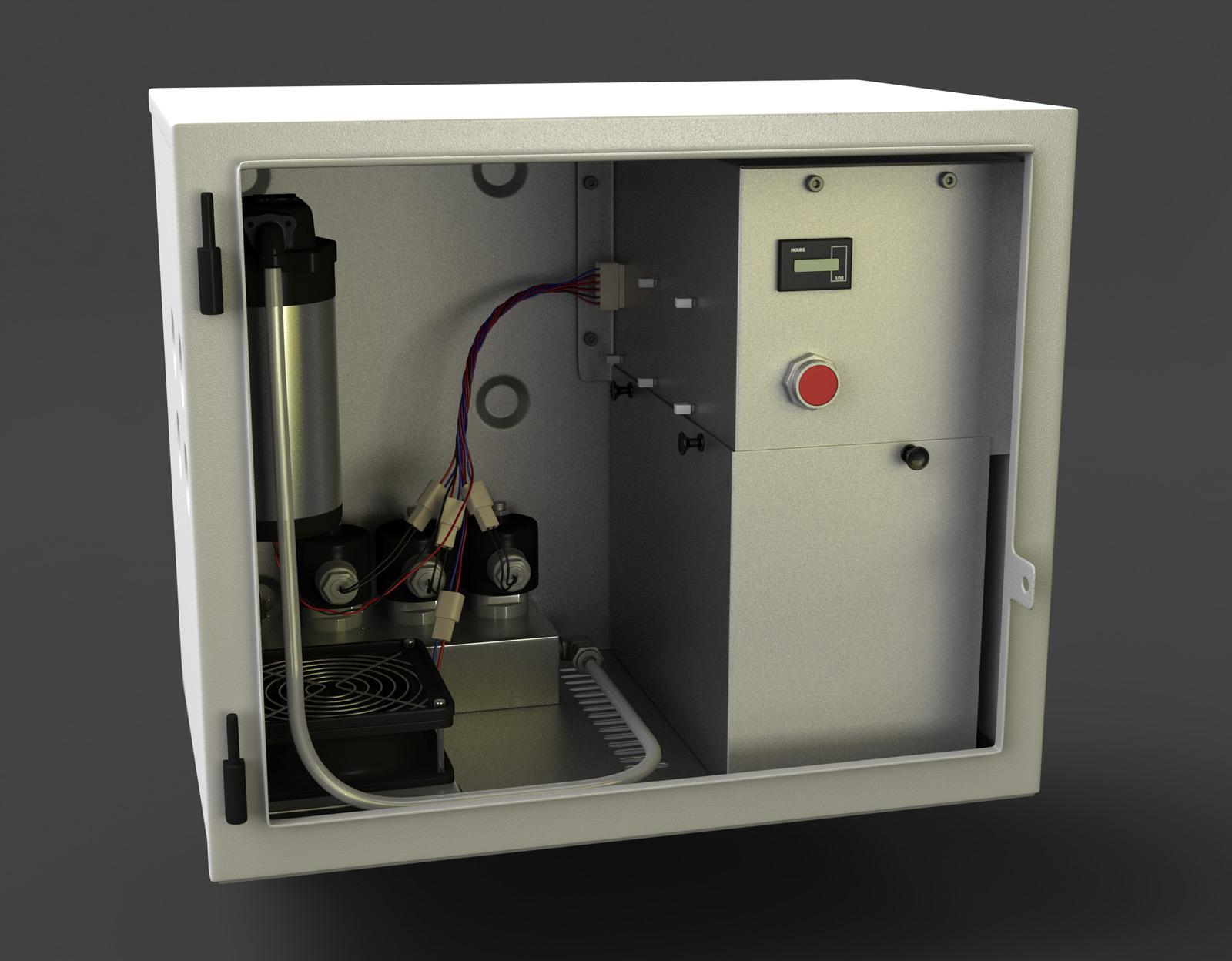 IdaTech External Fuel Tank Module Inside