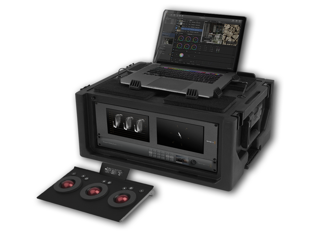 LiveGrade Station  Ultra compact color studio, with HDLink for color on set and