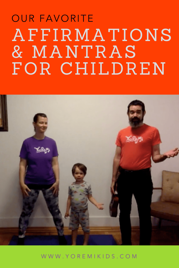 positive affirmations and mantras for kids - YRM