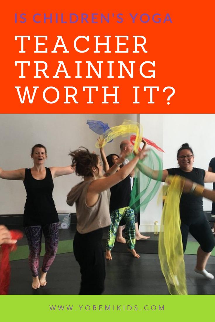 Is kids yoga teacher training worth it
