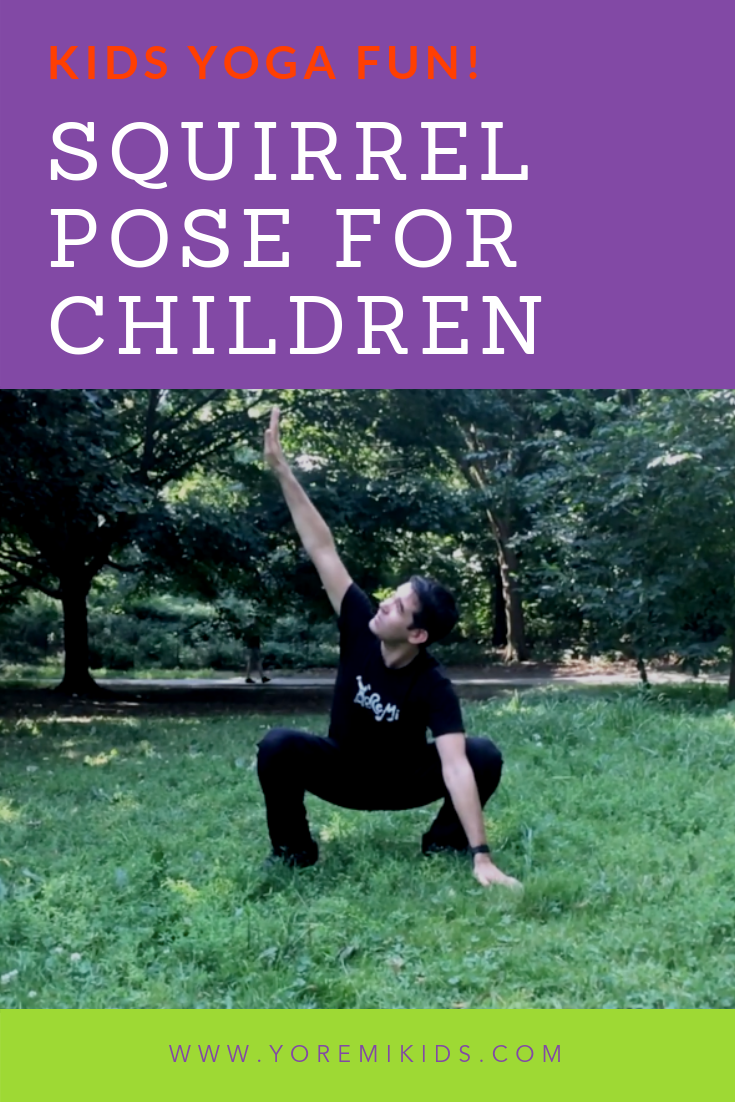 Fun malasana variations for kids yoga - YRM