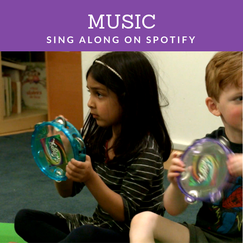Kids music on Spotify