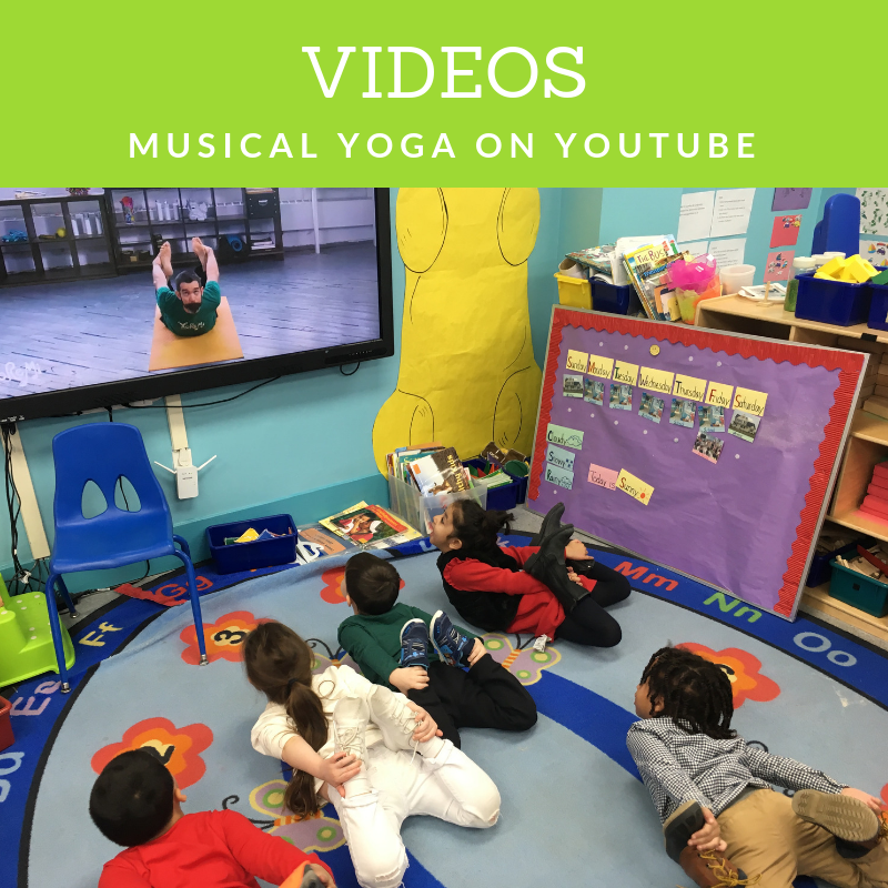 Kids music and yoga videos for free