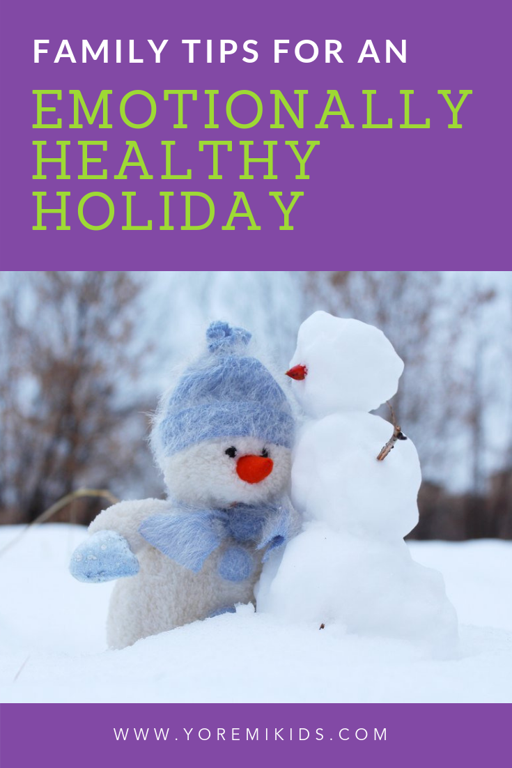 Tips for a healthy family holiday