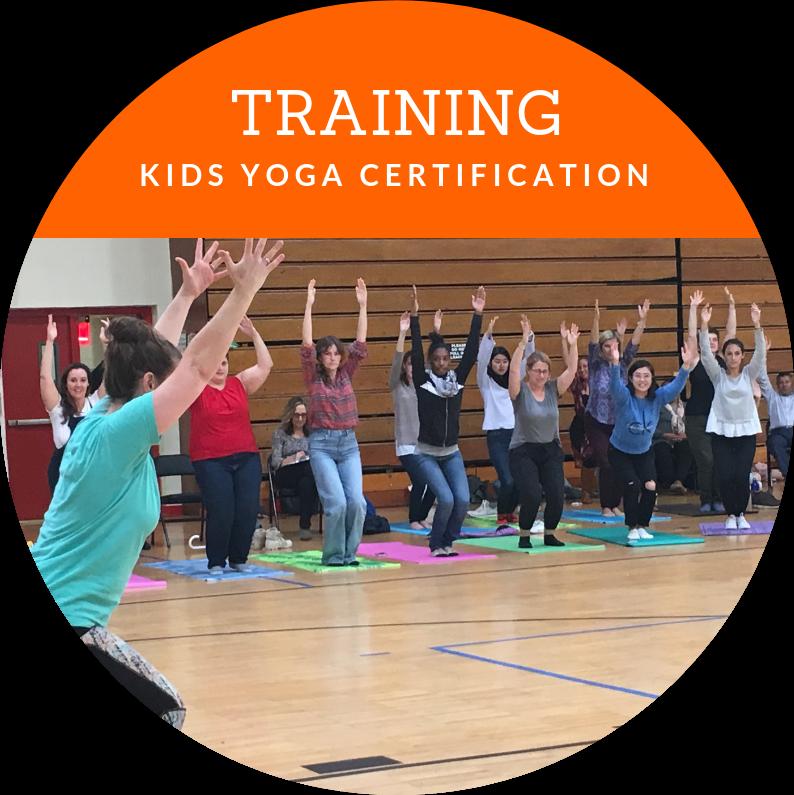 Children's Yoga Teacher Training Certification Courses with Yo Re Mi