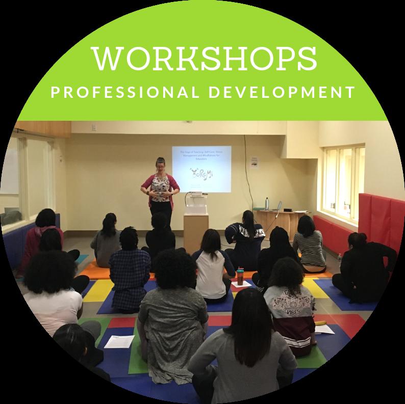 Professional Development Workshops for Teachers and Educators